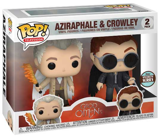 コレクション, フィギュア FUNKO FUNKO POP! SPECIALTY SERIES TELEVISION: Good Omens- Aziraphel Crowley wWings 2PK