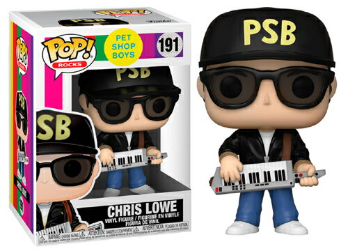 コレクション, フィギュア FUNKO FUNKO POP! ROCKS: Pet Shop Boys - Chris Lowe