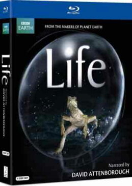 新品北米版DVD!Life (Narrated By David Attenborough) [4 Discs] (Life 生命という奇跡/BBC EARTH ライフ)