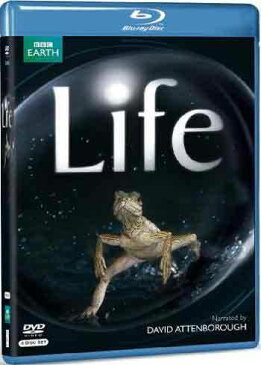 新品北米版Blu-ray!Life (Narrated By David Attenborough) [4 Discs] (Life 生命という奇跡/BBC EARTH ライフ)