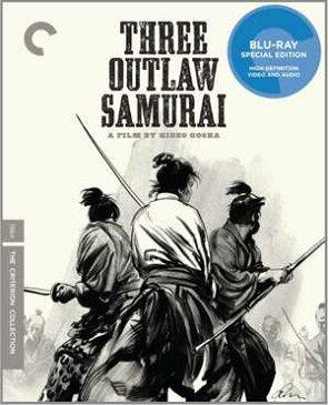 新品北米版Blu-ray!【三匹の侍】 Three Outlaw Samurai (Criterion Collection) [Blu-ray]!