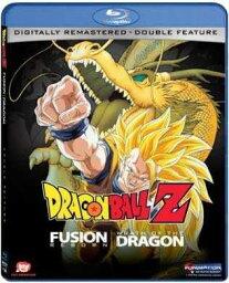 新品北米版Blu-ray!復活のフュージョン!!悟空とベジータ / 龍拳爆発!!悟空がやらねば誰がやる