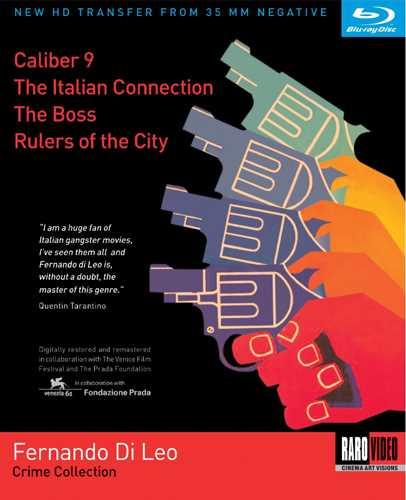 新品北米版Blu-ray!『ミラノカリブロ9』『皆殺しハンター』『ザ・ボス 暗黒街の標的』『ザ・シシリアン 復讐の挽歌』 Fernando Di Leo Crime Collection (Caliber 9 / The Italian Connection / The Boss / Rulers of the City) [Blu-ray]!