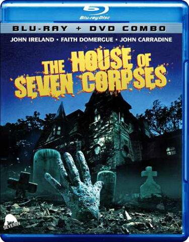 新品北米版Blu-ray!【ブラック・マジック/戦慄の館】 The House Of Seven Corpses [Blu-ray/DVD Combo]!