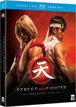 新品北米版Blu-ray!Street Fighter: Assassin's Fist [Blu-ray/DVD]!<『ストリートファイター』実写版>
