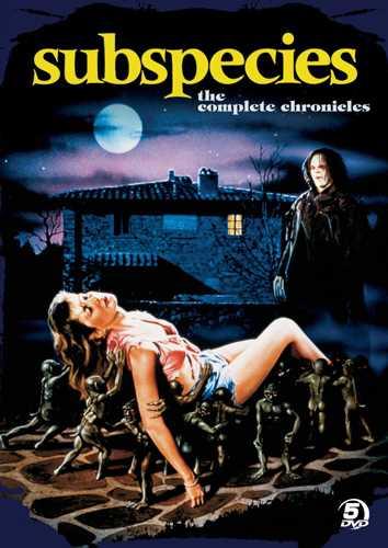洋画, その他 DVD Subspecies The Complete Chronicles