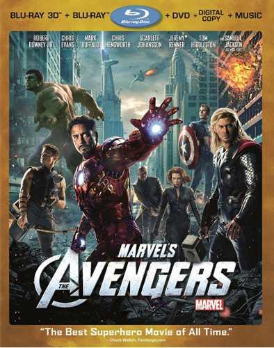 新品北米版3DBlu-ray  アベンジャーズ3D Marvel'sTheAvengers(Blu-ray3D/Blu-ray/