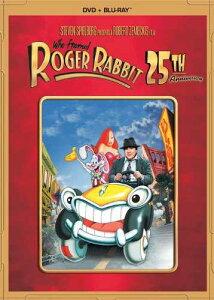 新品北米版Blu-ray!【ロジャー・ラビット】 Who Framed Roger Rabbit: 25th Anniversary Edition [Blu-ray/DVD Combo]【DVDパッケージ】!