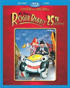 新品北米版Blu-ray!【ロジャー・ラビット】 Who Framed Roger Rabbit: 25th Anniversary Edition [Blu-ray/DVD Combo]【Blu-rayパッケージ】!