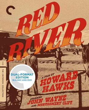 新品北米版Blu-ray!【赤い河】Red River (Criterion Collection) [Blu-ray/DVD]!
