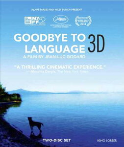 新品北米版Blu-ray 3D!【さらば、愛の言葉よ 3D】 Goodbye to Language [3D Blu-ray/Blu-ray]!<ジャン=リュック・ゴダール監督作>