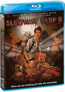 新品北米版Blu-ray!【レディ・ジェイソン/地獄のキャンプ】 Sleepaway Camp II: Unhappy Campers (Collector's Edition) [Blu-ray/DVD]!<『サマーキャンプ・インフェルノ』続編>