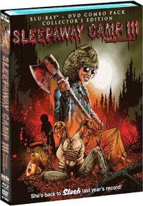 新品北米版Blu-ray!Sleepaway Camp III: Teenage Wasteland (Collector's Edition) [Blu-ray/DVD]!<『サマーキャンプ・インフェルノ』,『レディ・ジェイソン/地獄のキャンプ』続編>