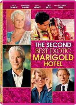 新品北米版DVD!Second Best Exotic Marigold Hotel!<「マリーゴールド・ホテルで会いましょう」続編>