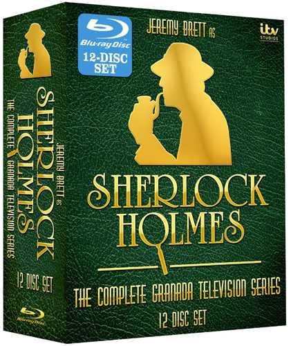 新品北米版Blu-ray!【シャーロック・ホームズの冒険:コンプリート・シリーズ】Sherlock Holmes: The Complete Series [Blu-ray]!:RGB DVD STORE/SPORTS&CULTURE
