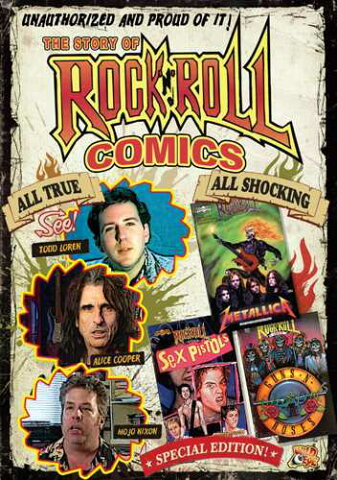 新品北米版DVD!The Story Of Rock N Roll Comics!