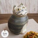 リサラーソン(Lisa Larson) ミアキャット グレー(Mサイズ)|リサラーソン 猫グッズ 猫雑貨 猫 ねこ 置物 |