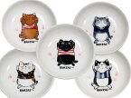 小皿 BANZAI〜 やまねこ(やまねみえこ)猫の小皿|やまねこ 手作り猫グッズ| 猫グッズ 猫雑貨 猫 ねこ ネコ|まるのおさんぽ 小皿|