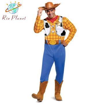 トイストーリー4 ウッディ 仮装 大人用 衣装 コスプレ ハロウィン メンズ カーボーイ ディズニー Toy Story 4