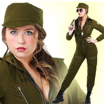 アーミー ミリタリー 海軍 空軍 大きいサイズ コスプレ コスチューム 仮装 レディース ハロウィン ARMY