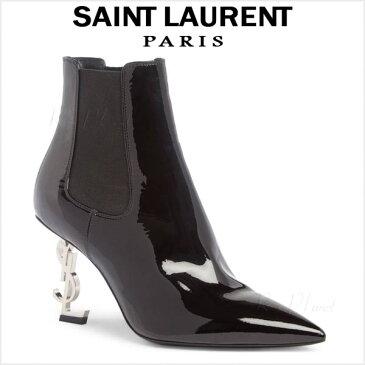サンローラン パリ ブーツ レディース 本革 大きいサイズ SAINT LAURENT OPYUM