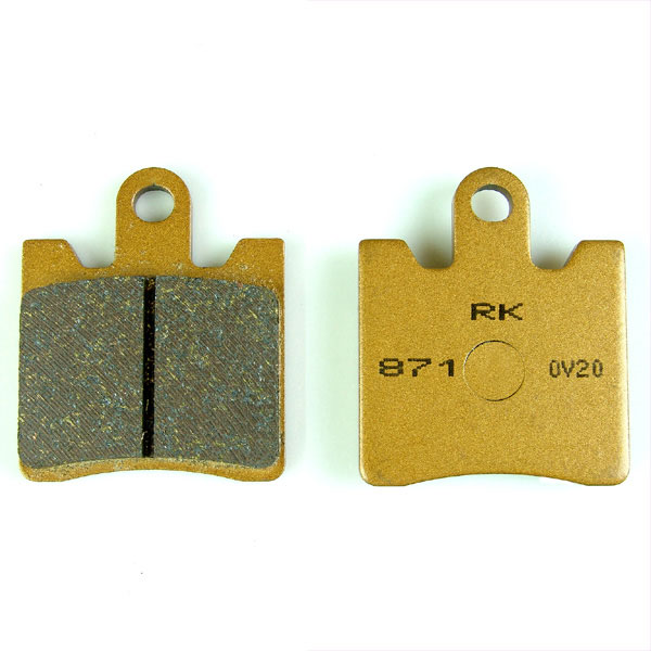 ブレーキ, ブレーキパッド  AN250K3K6 (0306) AN250II (98.0002) AN250SS (0306) AN250II (02) AN250SSSS (05.06) AN250250U (9800) AN250ZII (0002)AN250ZLTD (0306) RK RK-871