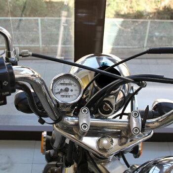 汎用ミニスピードメーター140km/hステー・バックライト付