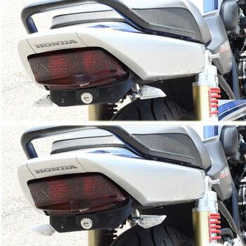 LEDウインカーポジションランプLED内蔵型ブラックボディ/クリアレンズ左右1セットバイク用カスタムパーツヤマハXJR400RXJR400/RスズキGSX-R1000BSX-R750カワサキZ1000ZX-6RER-6n/fNINJA400RニンジャER-4NZRX1200等に【UNIVERSAL】