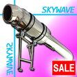 【あす楽対応】 ★セール SKY WAVE スカイウェイブ CJ43A 極太 カチ上げ ショート マフラー