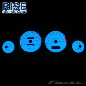 【あす楽対応】 フォルツァ MF06 ホワイトメーター ELメーター 発光色グリーンorブルー切り替えOK カスタム パーツ スピード ホンダ HONDA FORZA