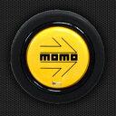モモ ホーンボタン HB-03 MOMO YELLOW