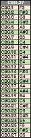 ゼンオンミュージックベルゴールド27音セットCBG-27ハンドベル