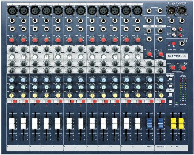 DAW・DTM・レコーダー, その他 SoundCraft EPM12