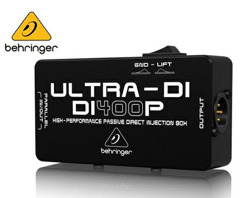 DAW・DTM・レコーダー, ダイレクトボックス Behringer DI400P ULTRA-DI
