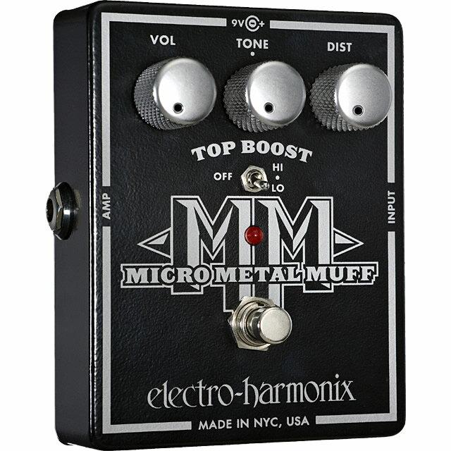 ギター用アクセサリー・パーツ, エフェクター Electro-HarmonixMicro Metal Muff() with Top BoostEHX