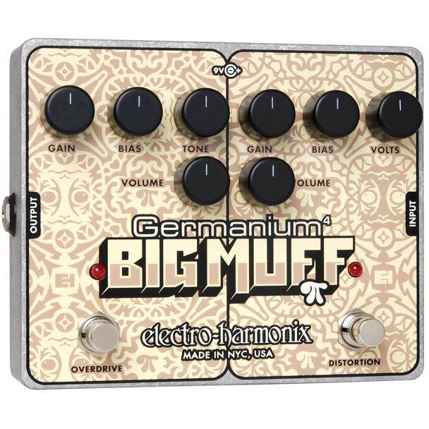 ギター用アクセサリー・パーツ, エフェクター Electro-HarmonixGermanium 4 Big Muff Pi(4) EHX