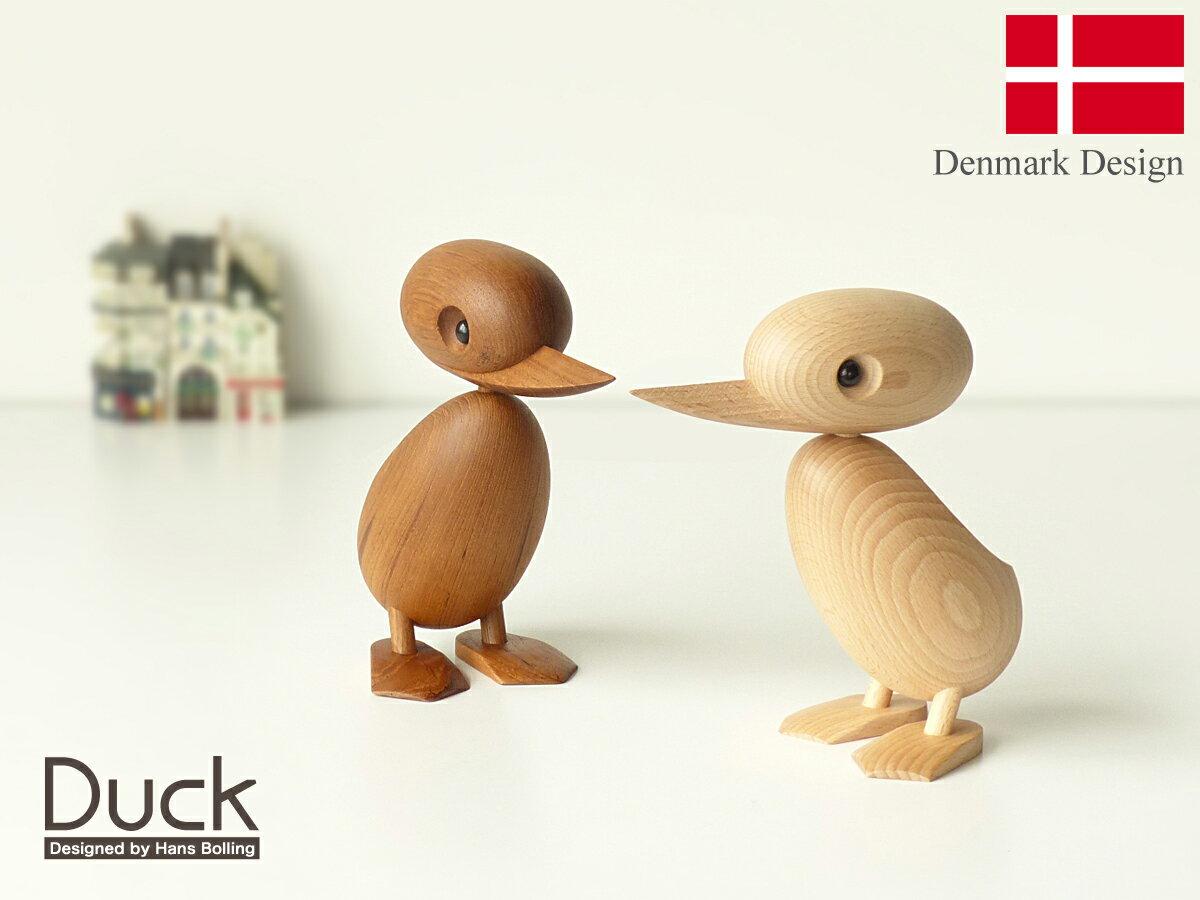 ハンス・ブリング ダック 全2色 Hans Bolling Duck 親アヒル 木製玩具 フィギュア 木のオブジェ インテリア 人形 置物 北欧雑貨 リプロダクト 北欧 雑貨 鳥 デザイナーズ 干支置物 酉年 トリ とり インテリア雑貨 ギフト プレゼント