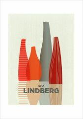 アートポスター(フレーム付)/A3サイズ 北欧 スティグ・リンドベリ STIG LINDBER…
