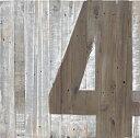 ウッドサインボード No.4 リサイクルウッド アンティーク レトロ ...