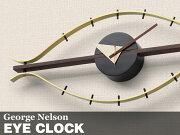 ジョージ ネルソン 掛け時計 ウォール ウォルナット ミッドセンチュリー クロック インテリア デザイナーズ アメリカ ユニーク ディスプレイ オブジェ