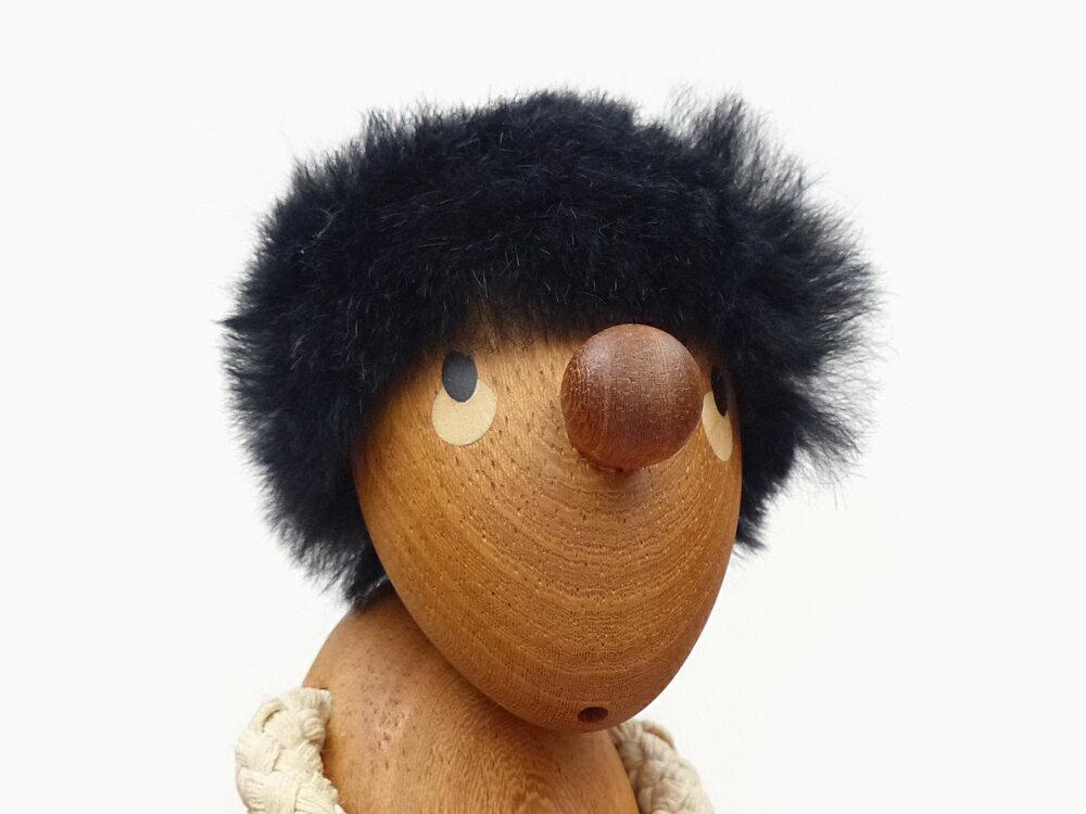 ハンス・ブリング Pessimist (ペシミスト) 悲観主義者 Hans Bolling 木製玩具 フィギュア 木のオブジェ インテリア 人形 置物 北欧雑貨 リプロダクト 北欧 雑貨 デザイナーズ インテリア雑貨 ギフト プレゼント