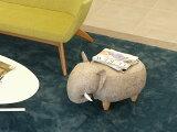 アニマルスツール エレファント 全2色 ファブリックスツール キッズスツール 北欧 チェア イス 椅子 ウッド フットスツール 玄関スツール お洒落 可愛い 座れる動物 スツール ベンチ クッション ゾウ 象 オブジェ インテリア 動物