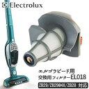 【Xmasセール】エレクトロラックス フィルター エルゴラピード用EL018Electrolux Ergorapido コードレス掃除機 サイクロン式ハンディークリーナー2WAY