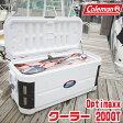 【お取り寄せ】【送料無料】コールマン Optimaxx クーラー / 200QT【容量約190L】キャスター付き クーラーボックス バーベキュー 保冷 大容量 大型 アウトドア キャンプ 釣り UVカード加工 抗菌加工 Coleman 200-Quart Optimaxx Cooler