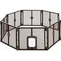 【在庫有り】ノースステーツ ペットヤード パッセージ 8パネルペットサークル 折りたたみ ペットケージ 犬 ドッグ 猫 ネコ キャット ペット ケージ 室内 屋外 アウトドア プラスチック ペット用品 軽量 North States Petyard Passage, 8 panel