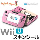 【セール!】decalgirl ディズニー ミニーマウス スキンシール Wii U 用 《ミニー・フェイス》 ニンテンドー Wii U デコシール 本体 コントローラー