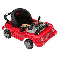 【在庫有り】ジープ クラシック ラングラー 3-in-1 グロー ウィズ ミー ウォーカー  乗り物 乗用玩具 ベビーウォーカー 子供用 おもちゃ Jeep 車 歩行器 Classic Wrangler 3-in-1 Grow With Me Walker