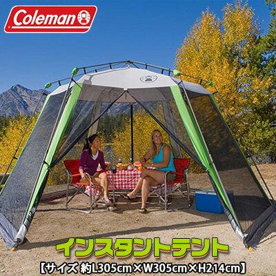 テント・タープ, テント  L305cmW305cmH214cm UV BBQ Coleman 10x10 Instant CanopyScreen House