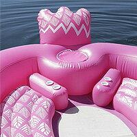 【在庫有り】【送料無料】Sun Pleasure ジャイアント パーティー バード アイランド フロート インスタ 大型 アイランドフロート うきわ 大人用 エアー ビーチ プール リゾート 水遊び キュート フラミンゴ ユニコーン ドリンクホルダー Giant Party Bird Island Float