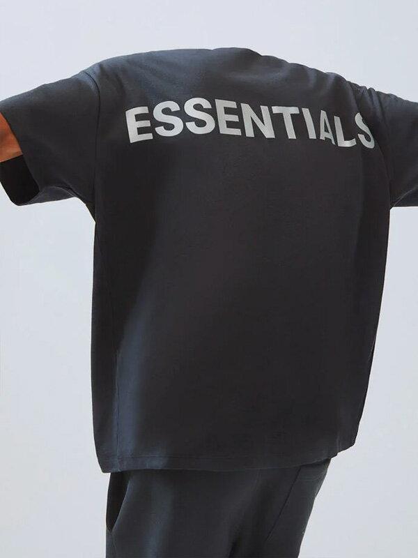 トップス, Tシャツ・カットソー Fear of God essentials T FOG ESSENTIALS F.O.G Boxy REFLECTIVE REFLECTIVE-SS-B